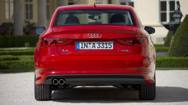 2013 Audi A3 Saloon 1.8 TFSI rear styling