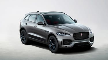Jaguar F-Pace Chequered - front qiaeyr