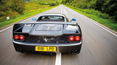 Ferrari F50 rear shot
