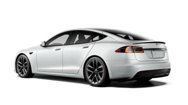 Tesla Model S Plaid rear