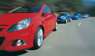 Vauxhall Corsa VXR group test