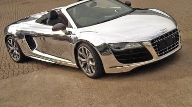 chrome wrap cars