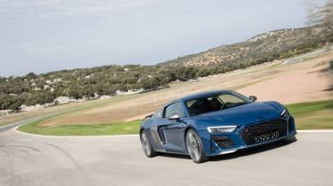 Audi R8 facelift review - quarter