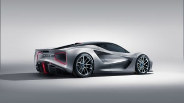 Lotus Evjia revealed - rear quarter