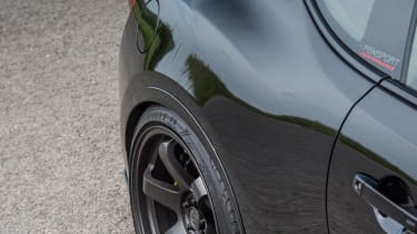 Toyota GT86 turbo Fensport rear flank