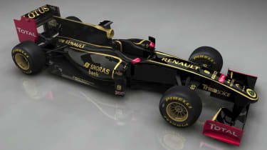 Lotus Renault GP Formula 1 F1 car
