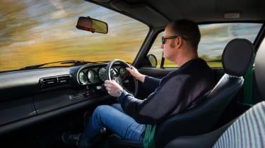 Paul Stephens Porsche 911 - interior
