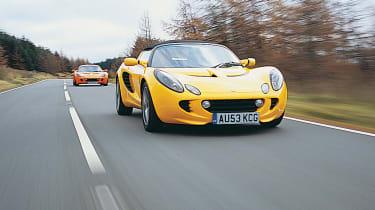Lotus Elise 111R - front