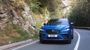 Jaguar F-Pace SVR 2021 front action