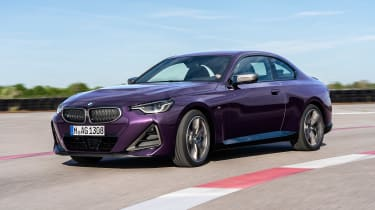 BMW 2-series 2021 – front quarter tracking