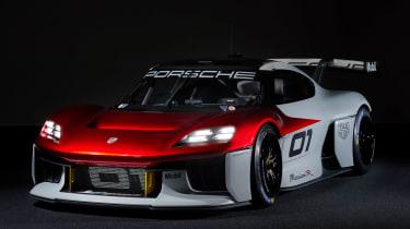 Porsche Mission R – front quarter