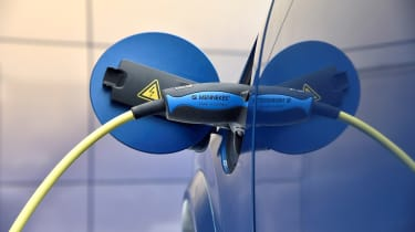 Volvo EV announcement - plug