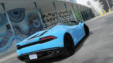 Lamborghini Huracan Spyder - rear three quarter