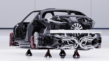 Alpine A110 GTA concept – rear profile
