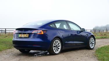 Tesla Model 3 MY21 - rear static