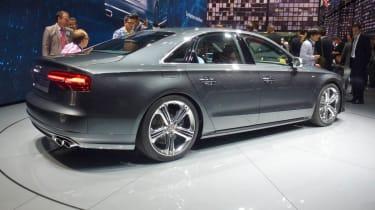 Audi S8 Frankfurt motor show rear