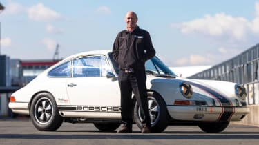 Porsche 911 Project 50 racing car Richard Attwood