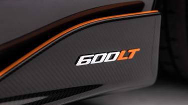 McLaren 600LT MSO - badge