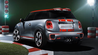 New Mini John Cooper Works Concept rear