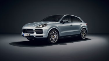 Porsche Cayenne S Coupe - pictures