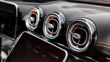 2021 Mercedes C-class revealed - vents