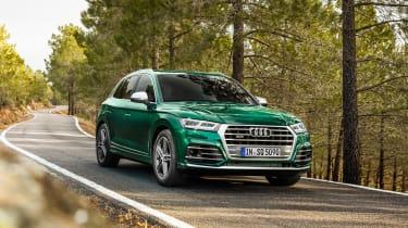 Audi SQ5 TDI - front
