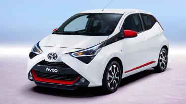 Toyota Aygo –front quarter