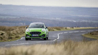 Ford Puma ST 2021 review – front