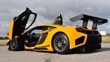 McLaren 12C Can-Am doors open