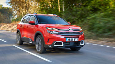 Citroen C5 Aircross - front quarter orange