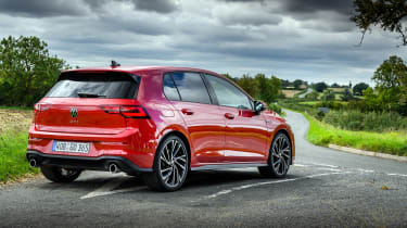 Best hot hatchbacks 2021 - Volkswagen Golf GTI rear