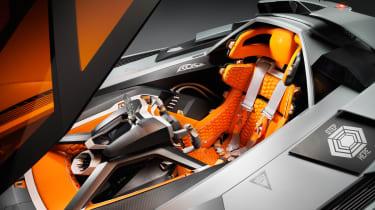 Lamborghini Egoista seat
