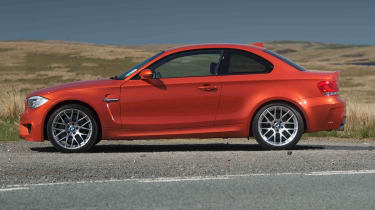 BMW 1M review red side profile