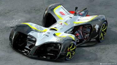 Roborace Robocar - Front