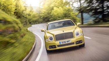 Bentley Mulsanne Speed - nose