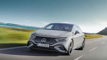 Mercedes-Benz EQE AMG-Line – front quarter