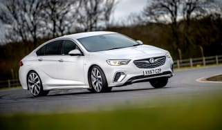 Vauxhall Insignia Grand Sport GSi BiTurbo – side