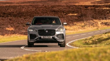 Jaguar F Pace 2021 review - P400 nose