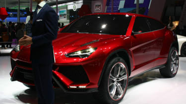 Video: Lamborghini Urus live reveal