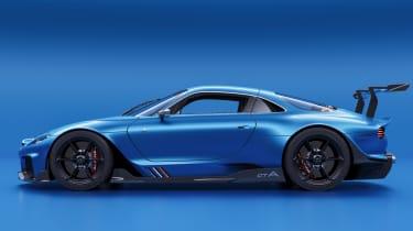 Alpine A110 GTA concept – side