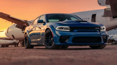 Dodge Charger SRT Hellcat Widebody front sunset