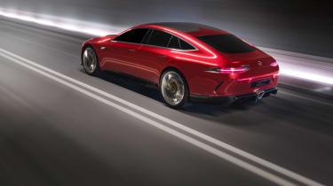 Mercedes-AMG GT Concept rear comparison