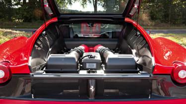 Ferrari F430 F1 engine