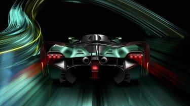 Aston Martin Valkyrie AMR Pro – rear