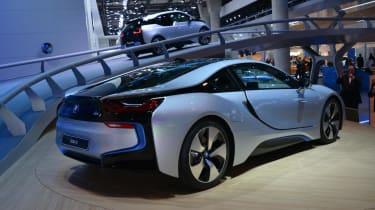 BMW i8 Frankfurt motor show 2013