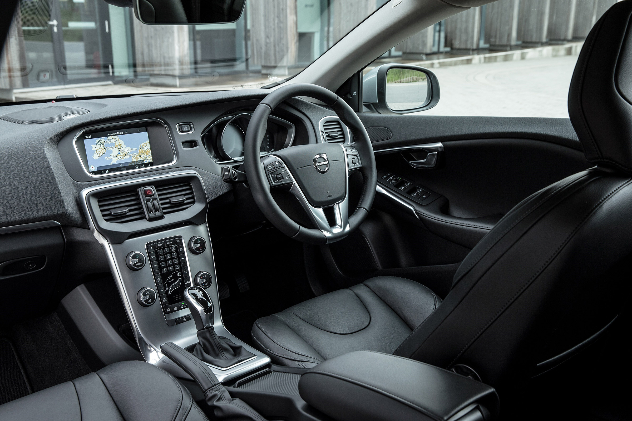 Volvo V40 Interior And Tech Evo
