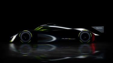 Peugeot Sport Hybrid4 500kW - silhouette
