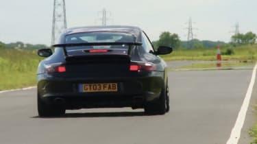 Porsche 996 GT3 black