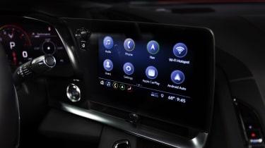 2020 Chevrolet Corvette C8 infotainment