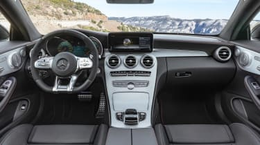 Mercedes-AMG C43 Coupe - dash